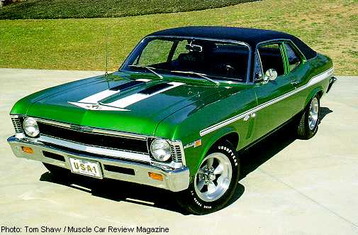 I would love to own a rare as hen 39s teeth COPO 1969 Yenko 427 Nova SS
